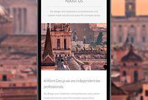 Klimt Group / Diseño de Branding & Página Web