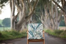 Upperlands Collection - Dark Hedges Photoshoot / Our designs were inspired by the beauty of the Upperlands and nature, we took them to the legendary Dark Hedges and their beautiful surroundings for our first photo-shoot.