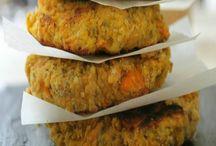 galettes / boulettes / recettes idéales pour se régaler à pas cher et se faire du bien. (à réaliser en version sans gluten)
