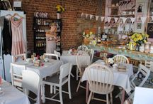 vintage tearoom