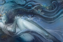 Mermaids sirens and creatures of the deep / a girl can dream / by Megan Boren