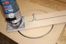 cortar circulos con fresadora