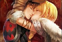 Hiccup ❤️ Astrid