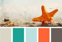 Color Schemes / by Stephanie LaRobadiere