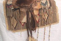 Native American saddles