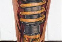 tatuaje pierna