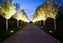 External garden lighting