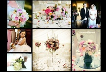 Clandon Park Wedding Flowers / A selection of wedding flowers including Hand Tied Bridal Bouquets, candelabras, button holes, corsages, table centres and top table displays) from some of our many weddings at Clandon Park.  We are recommended suppliers at this venue.