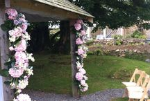 Our work at Trevenna, St Neot. www.weddingflowersincornwall.co.uk