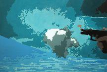 View from Illustrator / Credits: Davit Tsanava, Nika Maisuradze, Tezi Gabunia Graphic Design, Painter technician: Oto Shengelia, Gvanca Gabunia Photo: Ann Beridze, Elene Pasuri 2015