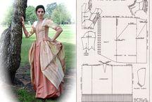18th century costume inspo and DIY