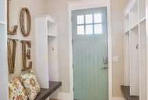 Mud Room / It's not all about mud these days. Turn that catch all entry space into a fabulous showpiece in your home.
