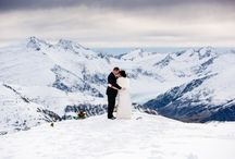 Isobel Glacier Heli-Weddings, Wanaka, New Zealand / Experience the solitude and beauty of exchanging vows at almost 7000ft. with 360° unspoiled views as far as the eye can see high up on the Isobel Glacier.  This is a unique opportunity to have your wedding ceremony and photographs taken amongst the magnificent scenery of the Mt Aspiring National Park.  For more information about how to book your Isobel Glacier Heli-Wedding see www.theweddingcompany.co.nz or email us at info@theweddingcompany.co.nz.