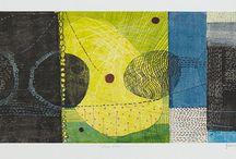 LJ Douglas monotypes / Monotypes by LJ Douglas