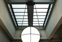 Platdakraam / lichtkoepel / Diverse ideeën en mogelijkheden van platdakramen en lichtstraten      (Platdak daglichtsystemen) voor het platte dak.