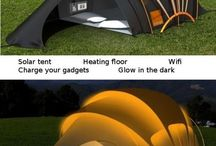 architecture, tents, construction based tech