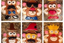 mr potato head cookies