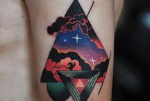 Tattoo - Space themes