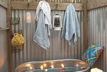 Outdoor Tubs and Showers