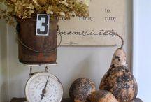 Vintage / Estilo decorativo en auge lleno de tesoros.