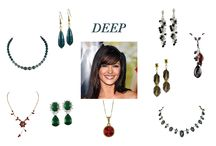 Deep Colouring - What to wear / What to wear for women with dark hair and eyes
