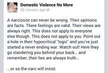 domastic Violence narrcicsim bullies abuse scars no more