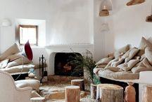 Strawbale Interior Design