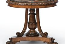 Specimen Tables / Marble top tables