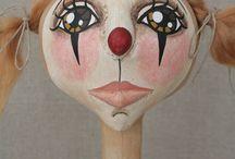 Клоуны циркачи