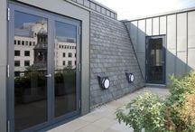 Casement Glass Doors / A casement door is the traditional style of door, most commonly aluminium framed.