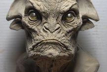 face, head