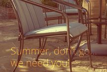 Lazy Summers / Kettler loves summer and with our Garden Furniture range, you can find a contemporary dining set or classic, metal furniture for your outdoor space. Let us help you relax in summer.