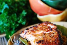 Scrummy ideas / Asian Noodles with Salmon