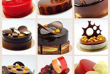 Presentacion de pasteles y dulces