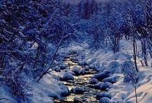 zima a priroda