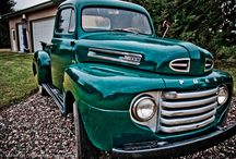 Old Cars / This page is for my brother, Clinton who I loved and lost. He loved cars and trucks whether they were his or whether they belonged to someone else. / by Louise Roberts
