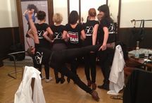Backstage of catwalks & photoshoots / Let ´s see how does IT look like on backstage.