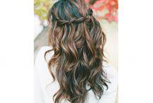 Bridal Hairstyle long hair down