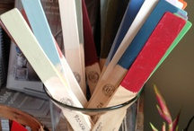 Chalk paint® / Different stuff we have painted with Chalk Paint®, carpet, tables, cement, and fabric.