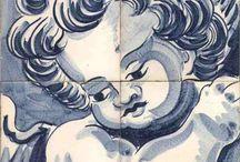 Ange Azulejos / copies de motifs anciens, des dessins contemporains et des motifs panoramiques