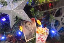 Hollywood Christmas Tree / 2013 - Our family loves classic movies and stars.  Our Christmas tree this year reflects it.