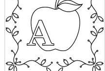 alfabet engelska