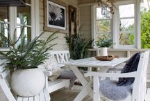 Outdoor verandah decor