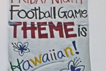 football game themes