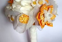 Alternative Bouquets / For those looking for something different for their weddings, here's a little bit of inspiration for alternative bouquets. Check out my blog on Alternative Bouquets at: https://bluelilymagnolia.wordpress.com/2014/11/28/wedding-bouquets-the-alternatives/
