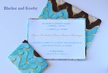 Fabric Invitations and Stationery