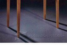 Mesa de canto e aparador