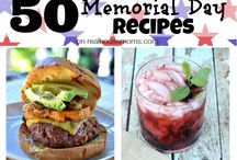 Memorial Day Ideas / For Memorial Day, are you a griller? A camper? A picnic-er? Find great ideas for recipes here. / by Steph 🔥 Fearless Fresh