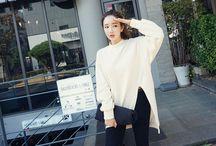 Korean Fashion / Des épingles pour s'inspirer de la k-fashion ou plutôt de la mode coréenne.