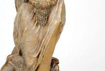 Art Déco Statues